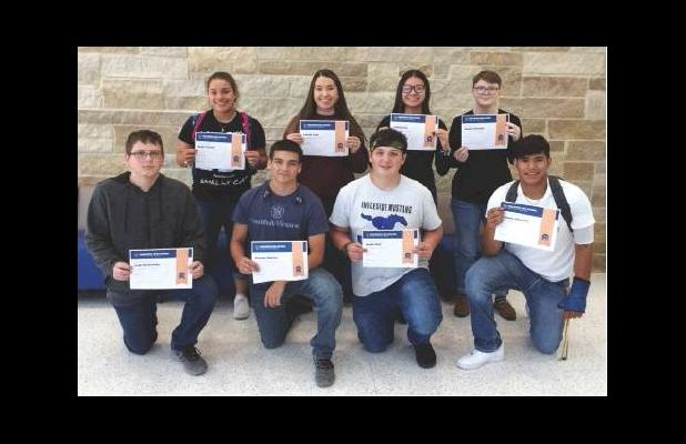 IHS September Students of the Month