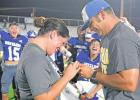 Mustang coach pops the question